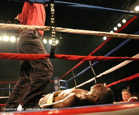 Reggie Johnson knocked out Fred Moore